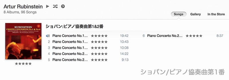 ショパンピアノ協奏曲第1番