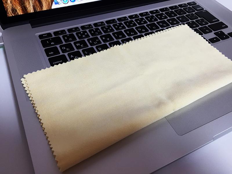 MacBook Pro Retina ディスプレイ掃除-3