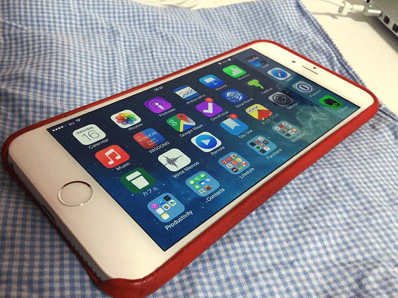 iPhone 6 Plus-レビュー-1