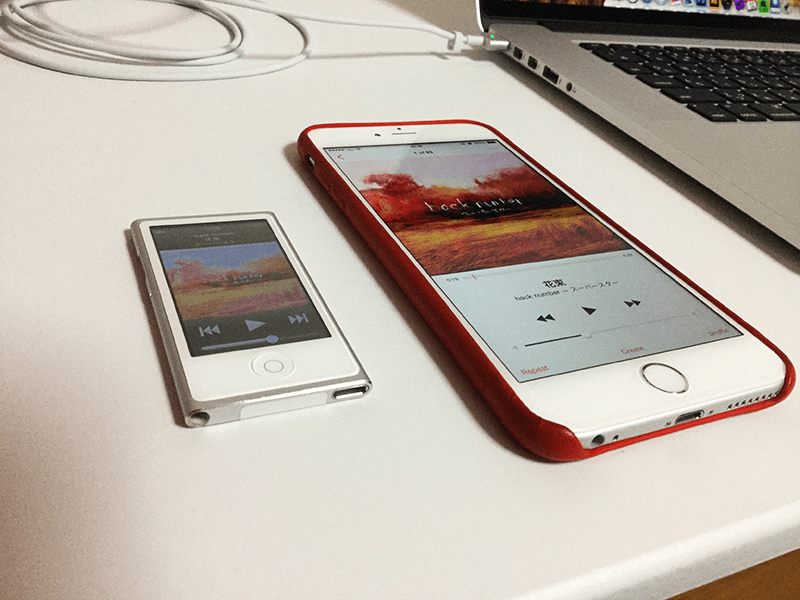 iPhoneとiPod nanoの使い分け-1