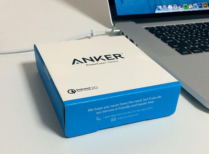 Anker PowerCore+ 10050-レビュー-3