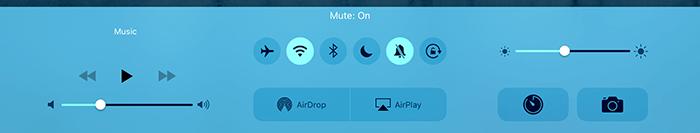 iPad Air2-マナーモード
