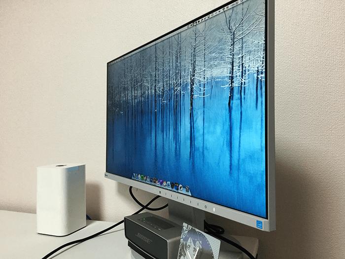 Macを中心とした環境 eizo ev2450