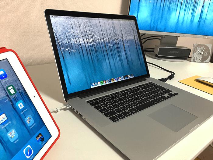Macを中心とした環境 MacBook Pro Retina late2013