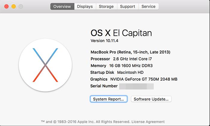 OS X Elcapitain 1