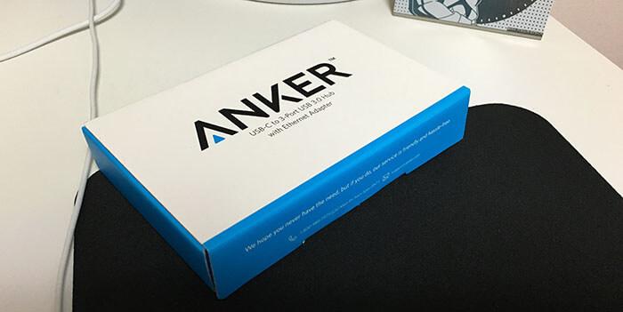 Anker TYPE C USBハブ 2