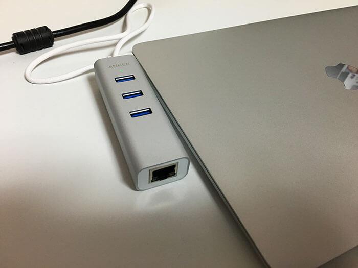 Anker TYPE C USBハブ 1