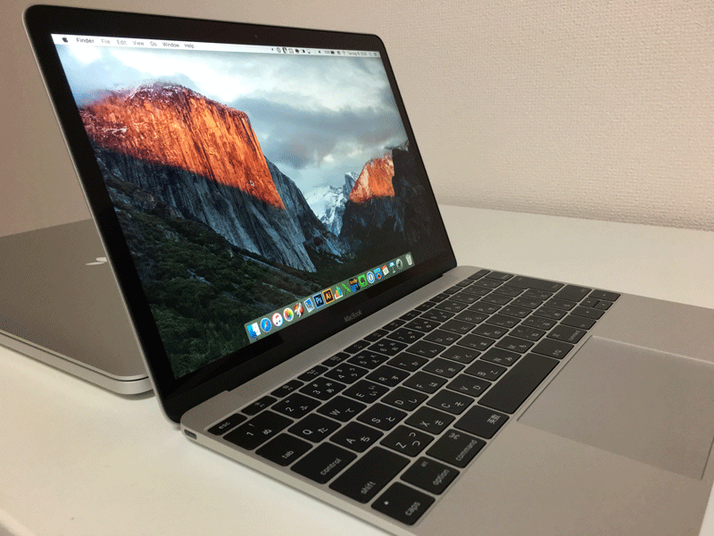 MacBook Early2016 レビュー 6