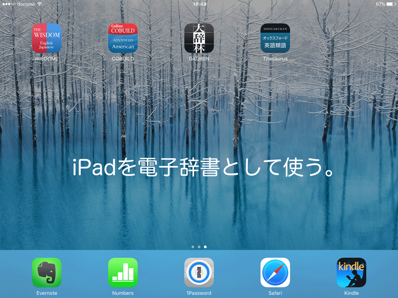 IPad Dictionary 1