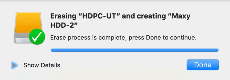 Macで外付けHDD SSD をフォーマットする方法Macで外付けHDD SSD をフォーマットする方法 6