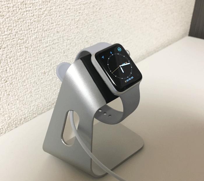 レビュー Spigen Apple Watch 充電スタンド 4