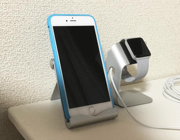 レビュー Spigen Apple Watch 充電スタンド 5