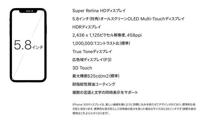 Apple プレミアムモデルのiPhone Xを発表 iPhone 7からの進化は有機EL OLED とFace IDの搭載 2