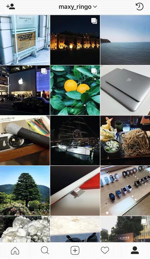 Instagramの優れている点はアルバムのように見やすく写真がシェアできるところ 4