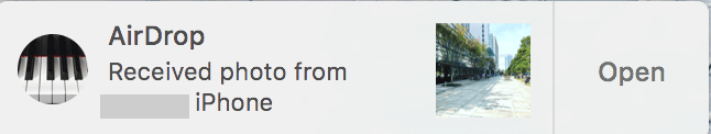 AirDropでiPhone iPad とMac間でファイルを送受信する方法 3