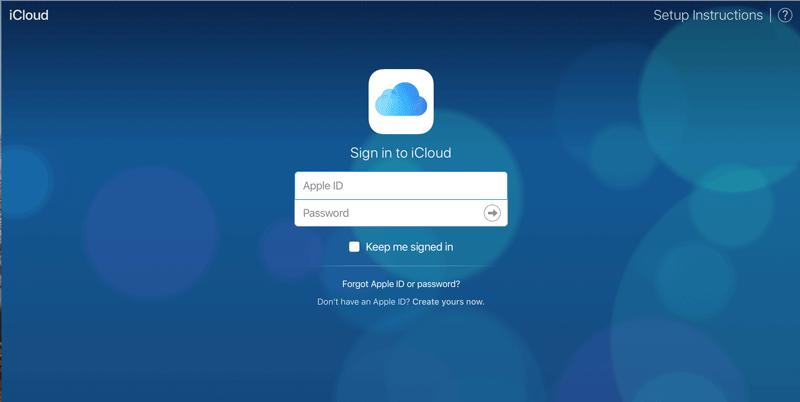 ICloud 無くした紛失したiPhoneやMacをブラウザ上で見つける方法 1