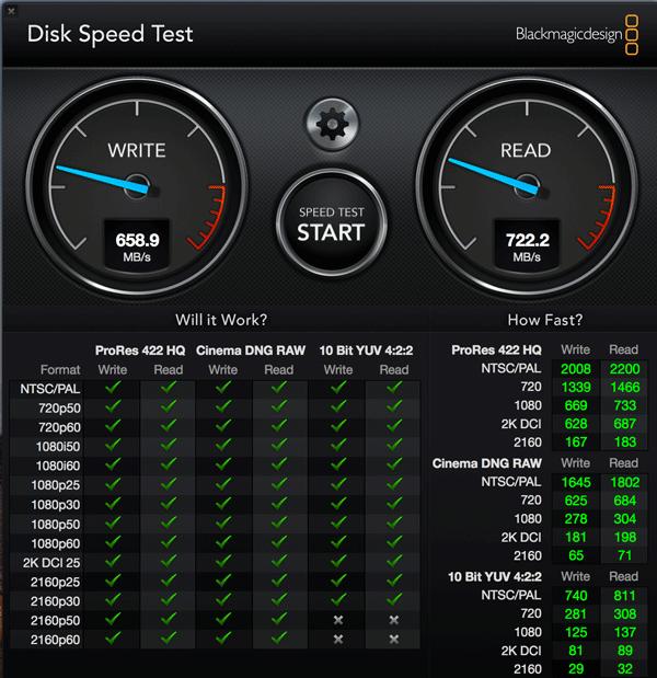 MacOS High Sierra 10 13にアップグレードしたMBP 15 inch Late 2013のSSD APFS の速度を測定してみた 2