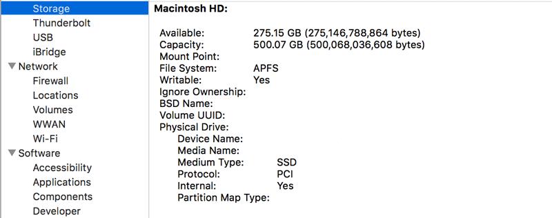 MacOS High Sierra 10 13にアップグレードしたMBP 15 inch Late 2013のSSD APFS の速度を測定してみた 1