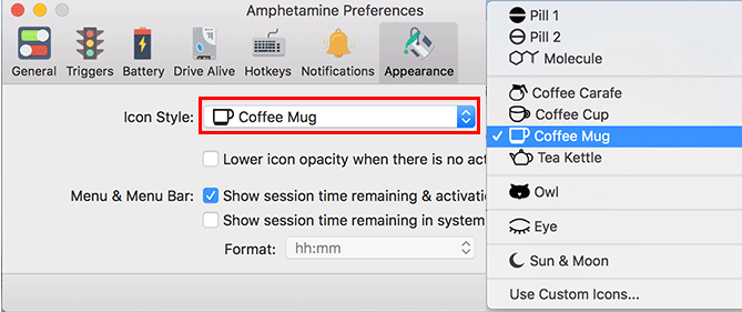 Caffeineの代用アプリAmphetamineでMacのスリープを防ぐ 3