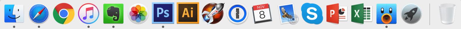 MacBook Proドック