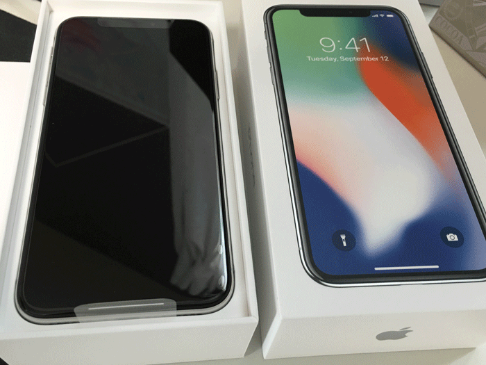 開封の儀とフォトレビュー iPhone Xがやっと届きました 4