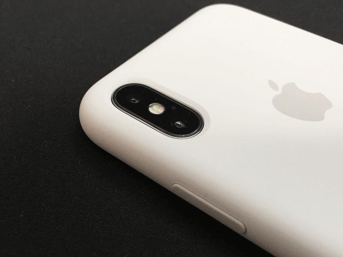 レビュー Apple純正 iPhone Xシリコーンケース 6