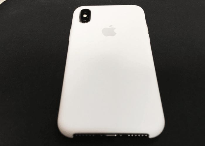 レビュー Apple純正 iPhone Xシリコーンケース 5