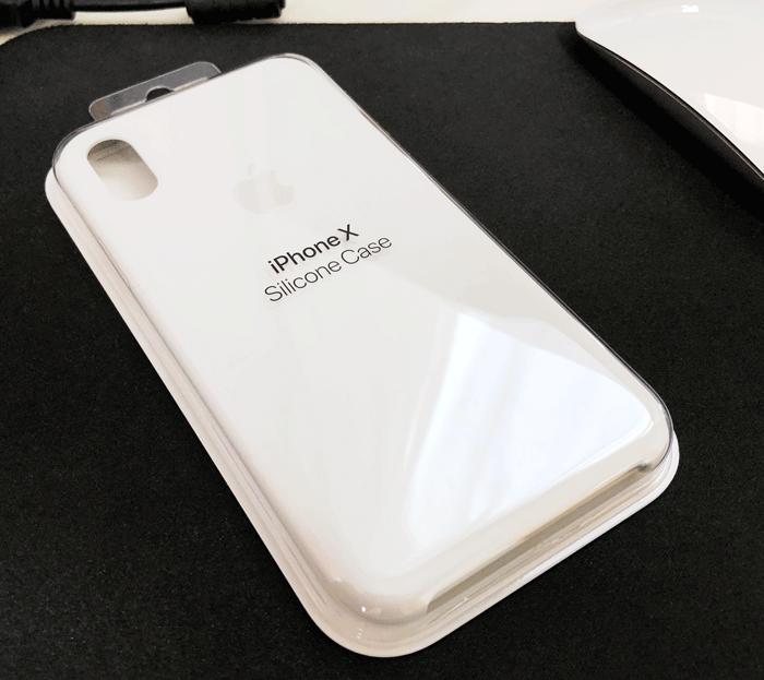 レビュー Apple純正 iPhone Xシリコーンケース