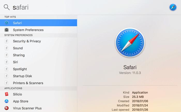 Mac スポットライト機能を使って瞬時にアプリを立ち上げよう 4