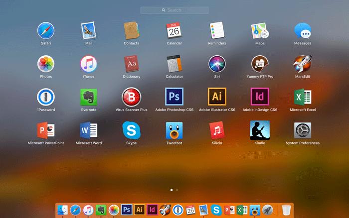 Mac スポットライト機能を使って瞬時にアプリを立ち上げよう 2
