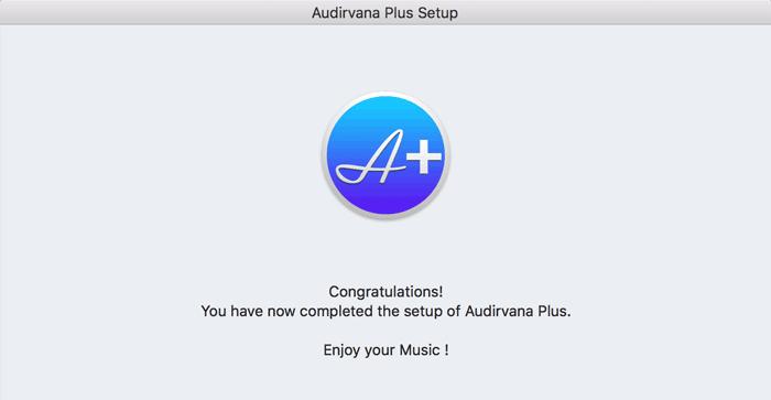 Audirvana Plusのインストール 12