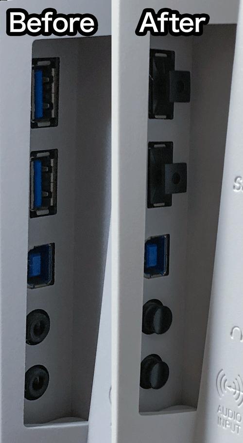 IMacや液晶のコネクタを保護してホコリやサビから守る 3