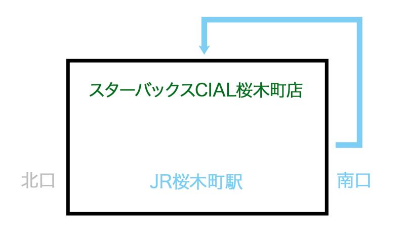 スターバックスCIAL桜木町駅