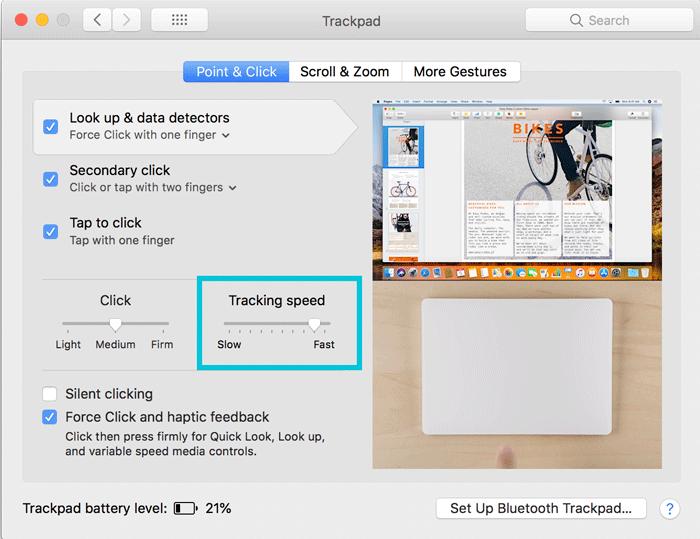 IMac 作業がはかどるMagic Trackpad 2の設定 1