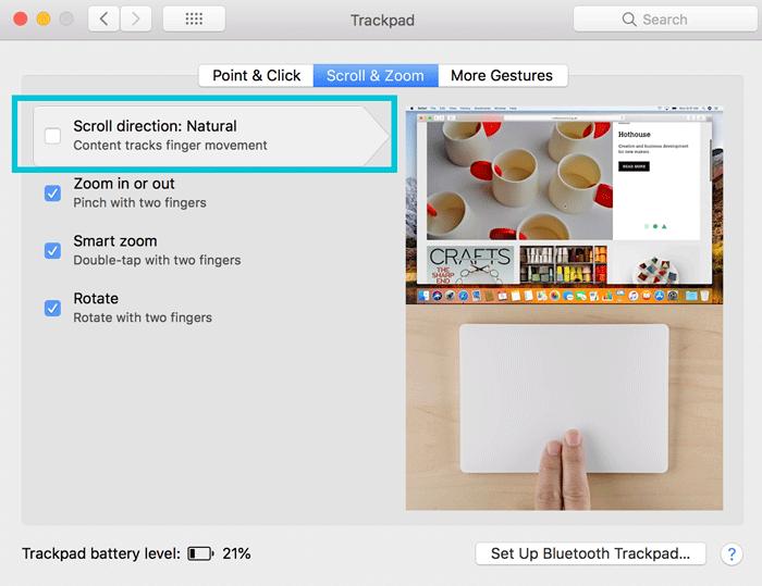 IMac 作業がはかどるMagic Trackpad 2の設定 3